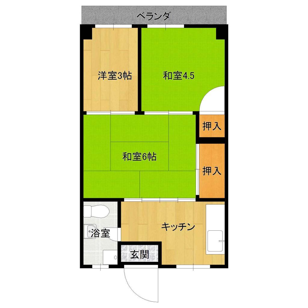 山田アパート302